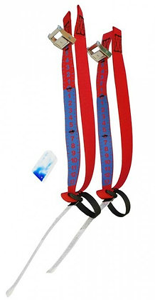 Trimmer replacement Straps set with Buckles - Pair