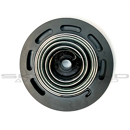 MP052 - Plastic pulley with assembled easy start spring