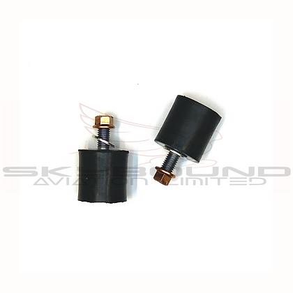 M021 - Antivibration mount 30x30mm-M8x20mm (Set of 2) (incl: M01 - M019)