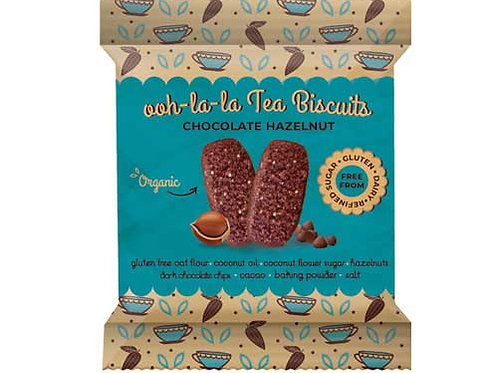 Rhythm 108 Choco Hazelnut Tea Biscuit Impulse 24g