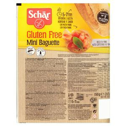 Schär Gluten Free Mini Baguette 2x75g