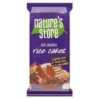 Nature's Store Free From Milk Chocolate Rice Cakes 100G