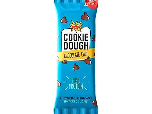 POW PROTEIN RAW COOKIE DOUGH BAR - CHOCOLATE CHIP 45g