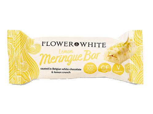 Flower & White Meringue Bar - Lemon 23.5g