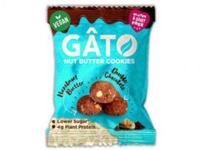 GATO - HAZELNUT BUTTER & DARK CHOCOLATE COOKIES 33G