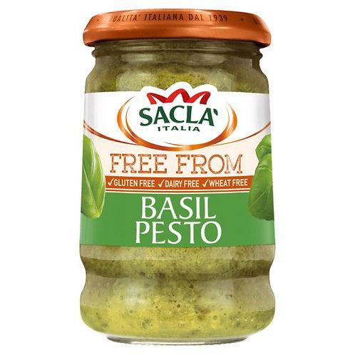Sacla Basil Pesto Gluten Free 190G