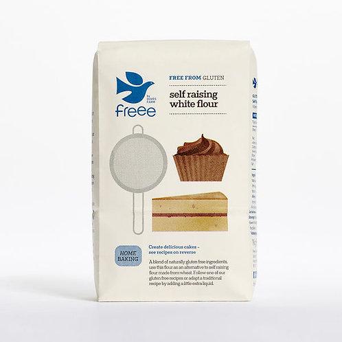 Freee by Doves Farm Gluten Free Self Raising White Flour 1kg
