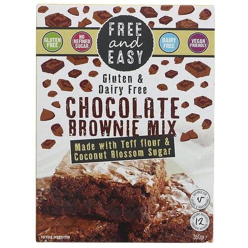 Free & Easy Chocolate Brownie Mix 350g