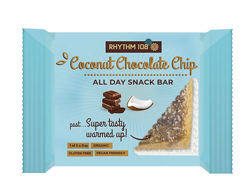 RHYTHM 108 GOOD-FOR-YOU DESSERT BAR - COCONUT CHOCOLATE CHIP   30g
