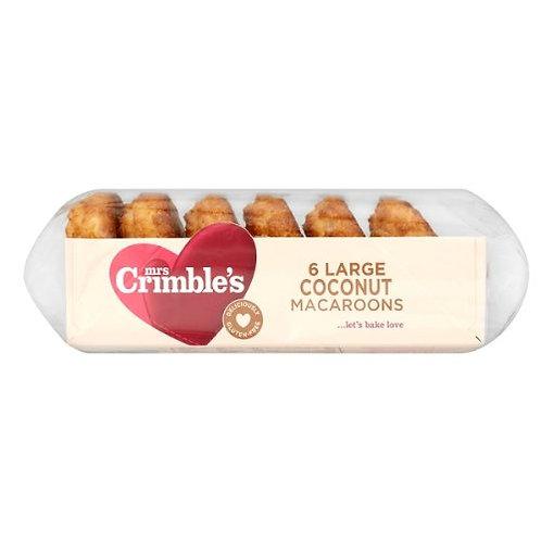 Mrs Crimble's large coconut macaroons