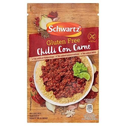 Schwarts Gluten Free Chilli Con Carne 41g