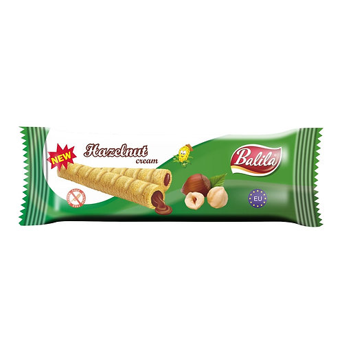 Balila Corn Tube Hazelnut Cream
