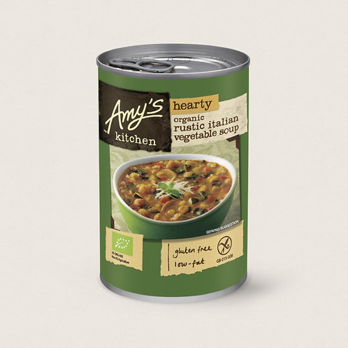 Amys Hearty Rustic Italian Vegetable Soup 400g