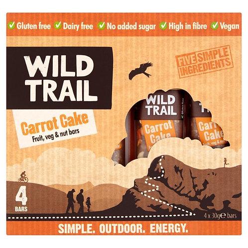 Wild Trail Carrot Cake Fruit, Veg & Nut Bar