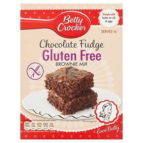 Betty Crocker Gluten Free Chocolate Fudge Brownie Cake Mix 415g