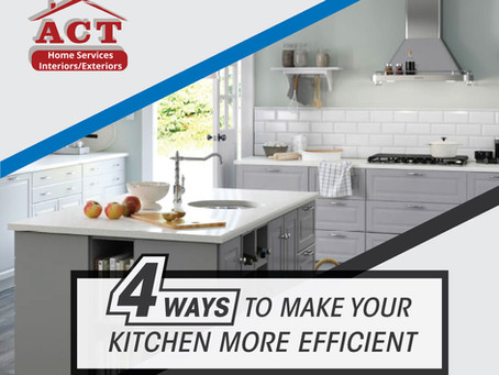 Four Ways To Make Your Kitchen More Efficient