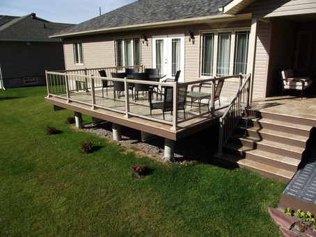 Which Decking Material Requires Minimal Maintenance?