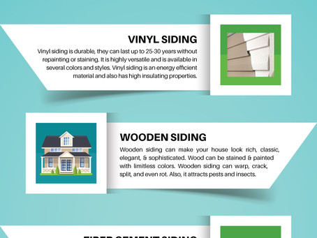 Infographic – Best Siding Material For Your Home
