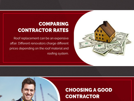 Infographic – 5 Signs to Keep in Mind Before Replacing a Roof