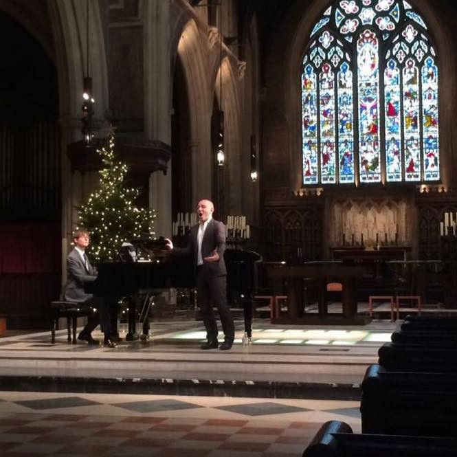 Solo concert in London