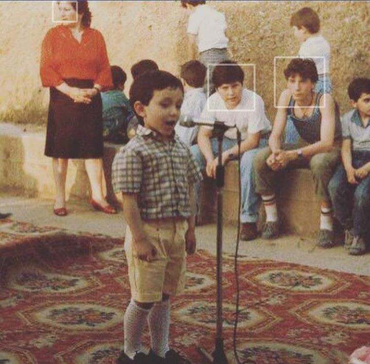 MY first solo concert and i was 4