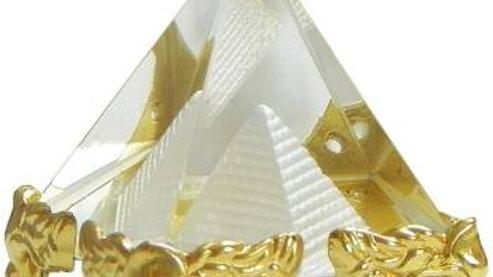Feng Shui Glass Pyramid Crystal