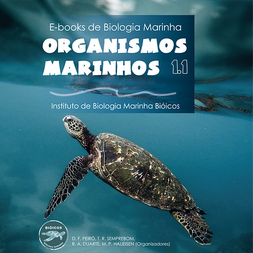 E-book Organismos Marinhos