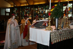Beginning the Divine Liturgy
