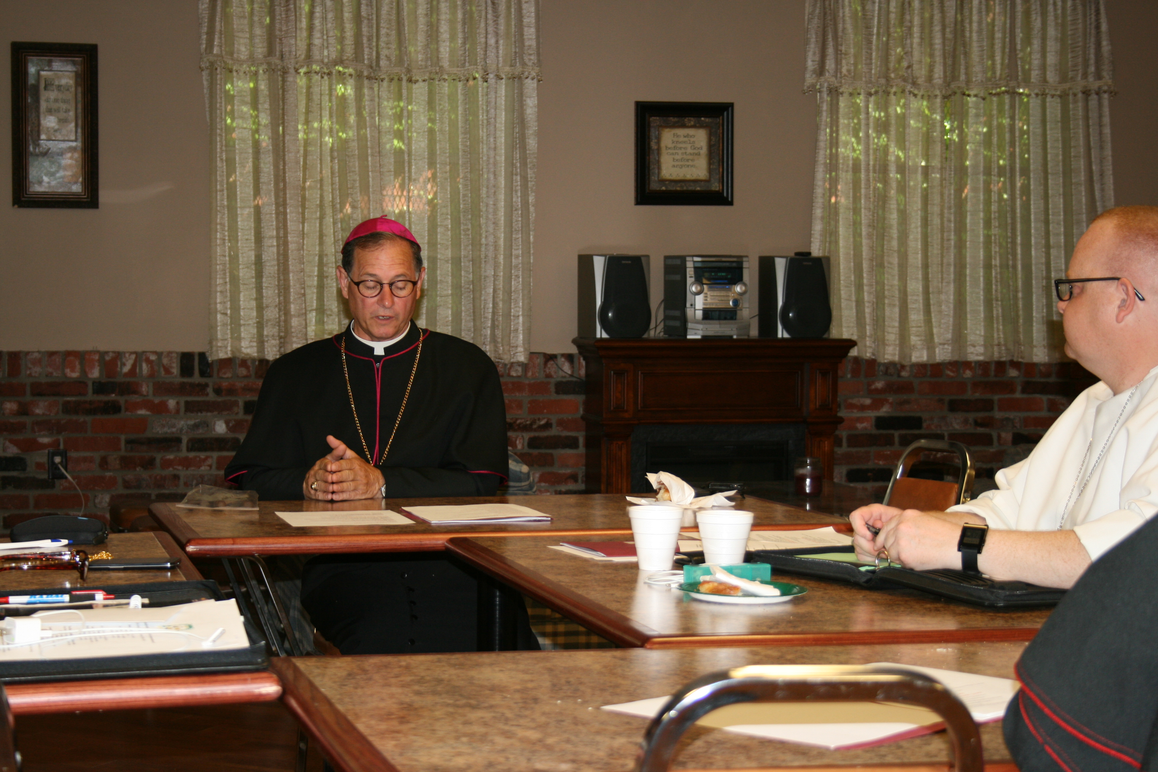 Bishops during the Synod discussions