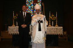Bishop Joseph and Rev. Johnson