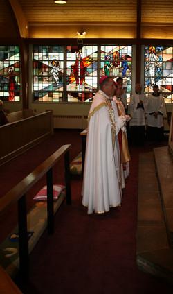 """I will go unto the Altar of God..."""