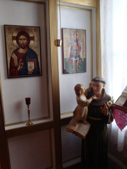 St. Anthony and the Iconostasis