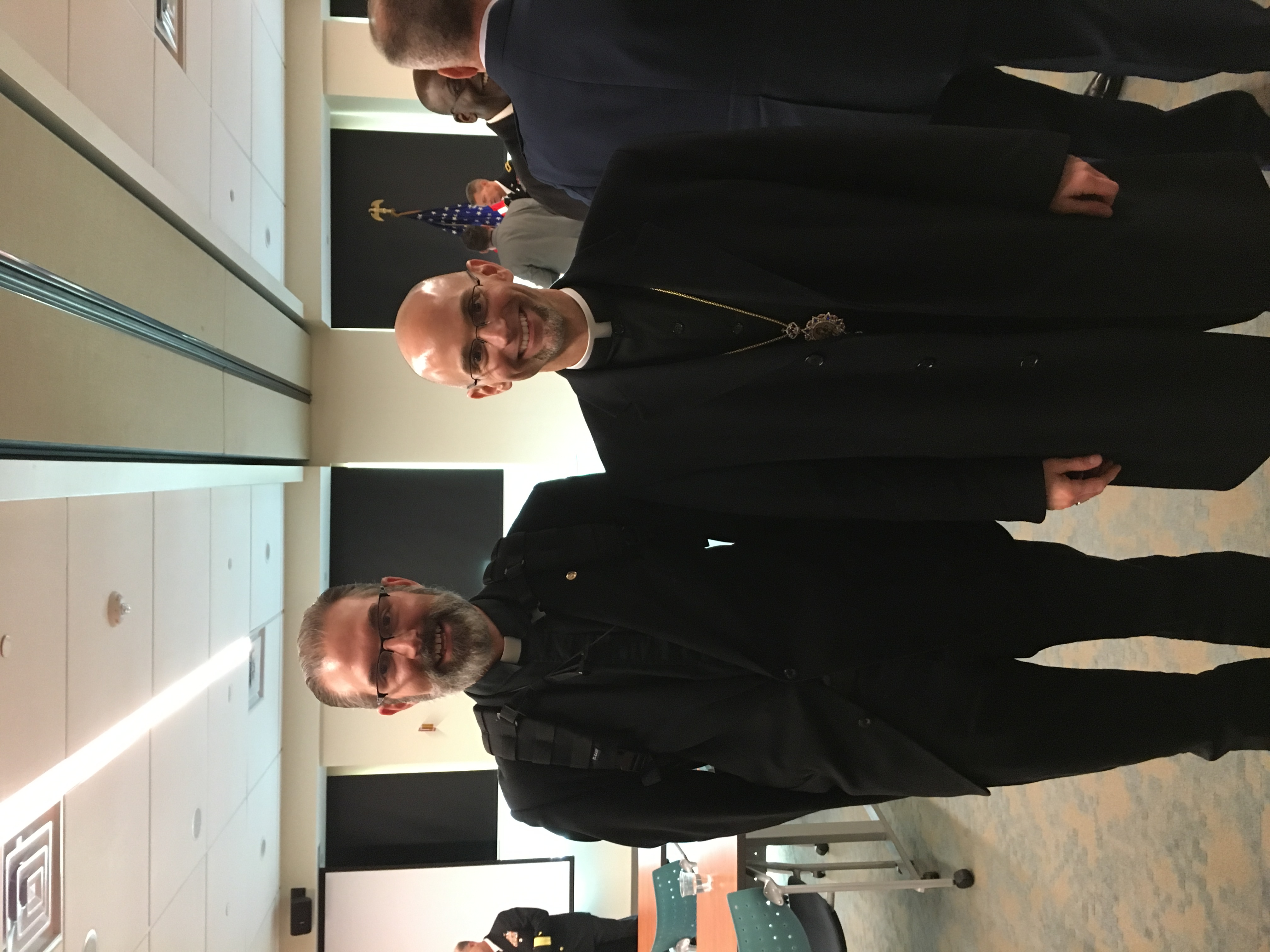 Metropolitan Joseph and Bp. Mackey