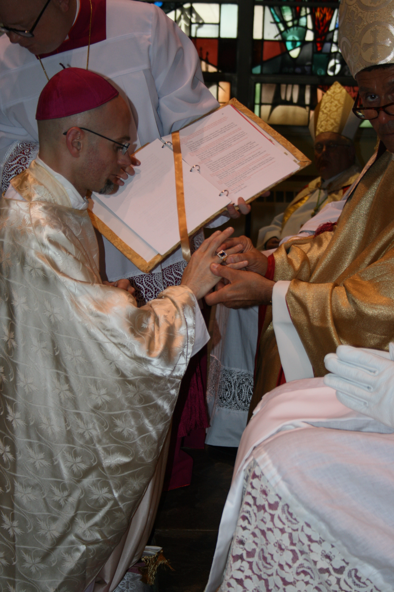 Blessing and imposition of the Ring