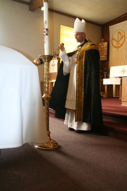 Incensation during a Requiem Liturgy