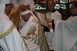 Anointing the Crown with Chrism