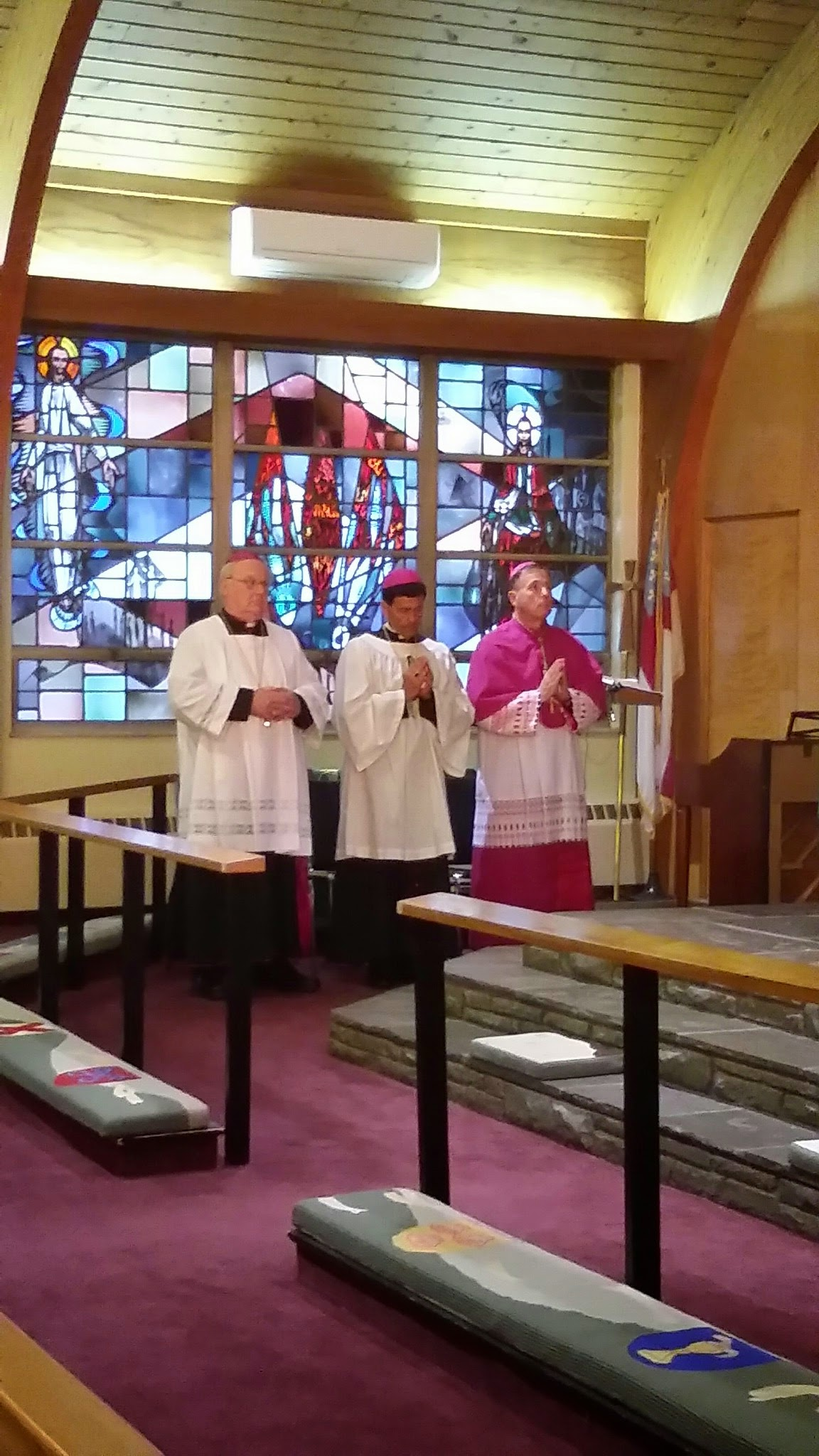 Bishops at prayer