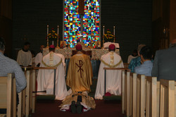 Prostration and Litany of the Saints