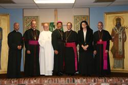 Bishops, Sr. Reparata, etc.