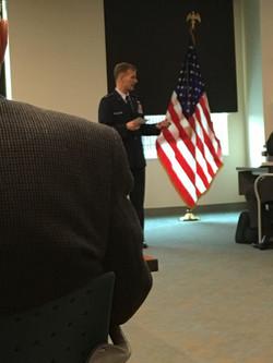 Chaplain Costin, U.S. Air Force