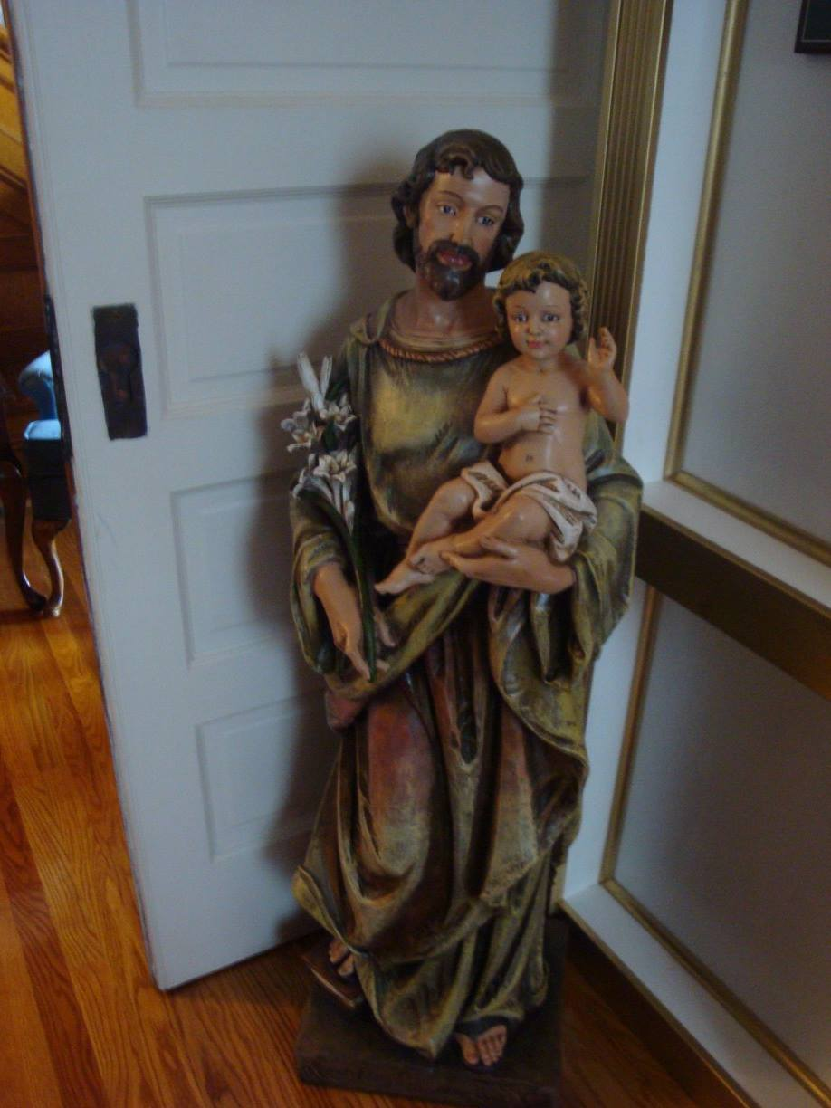 St. Joseph statue in the Chapel