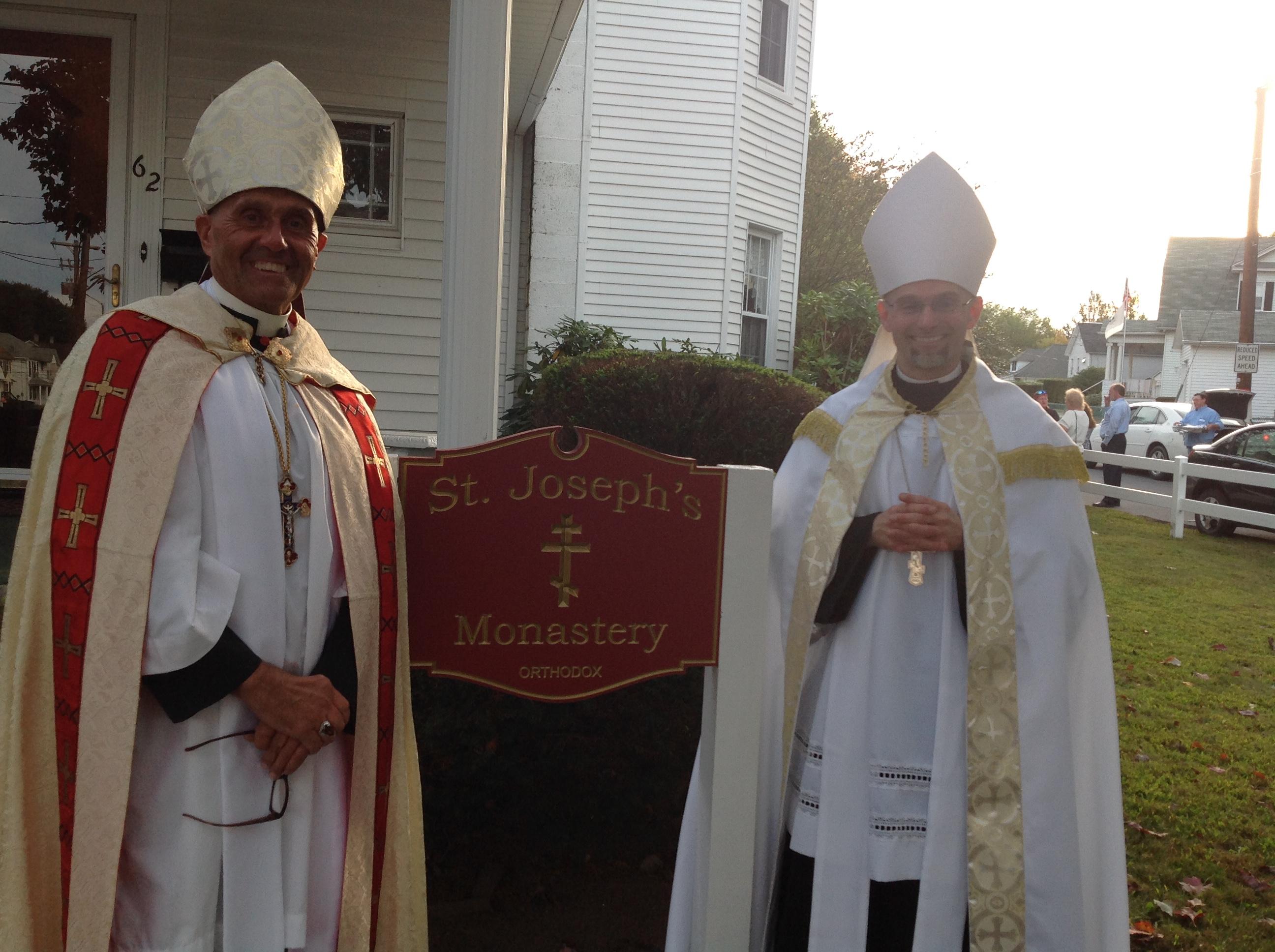 Bishop Victor and Bishop Joseph