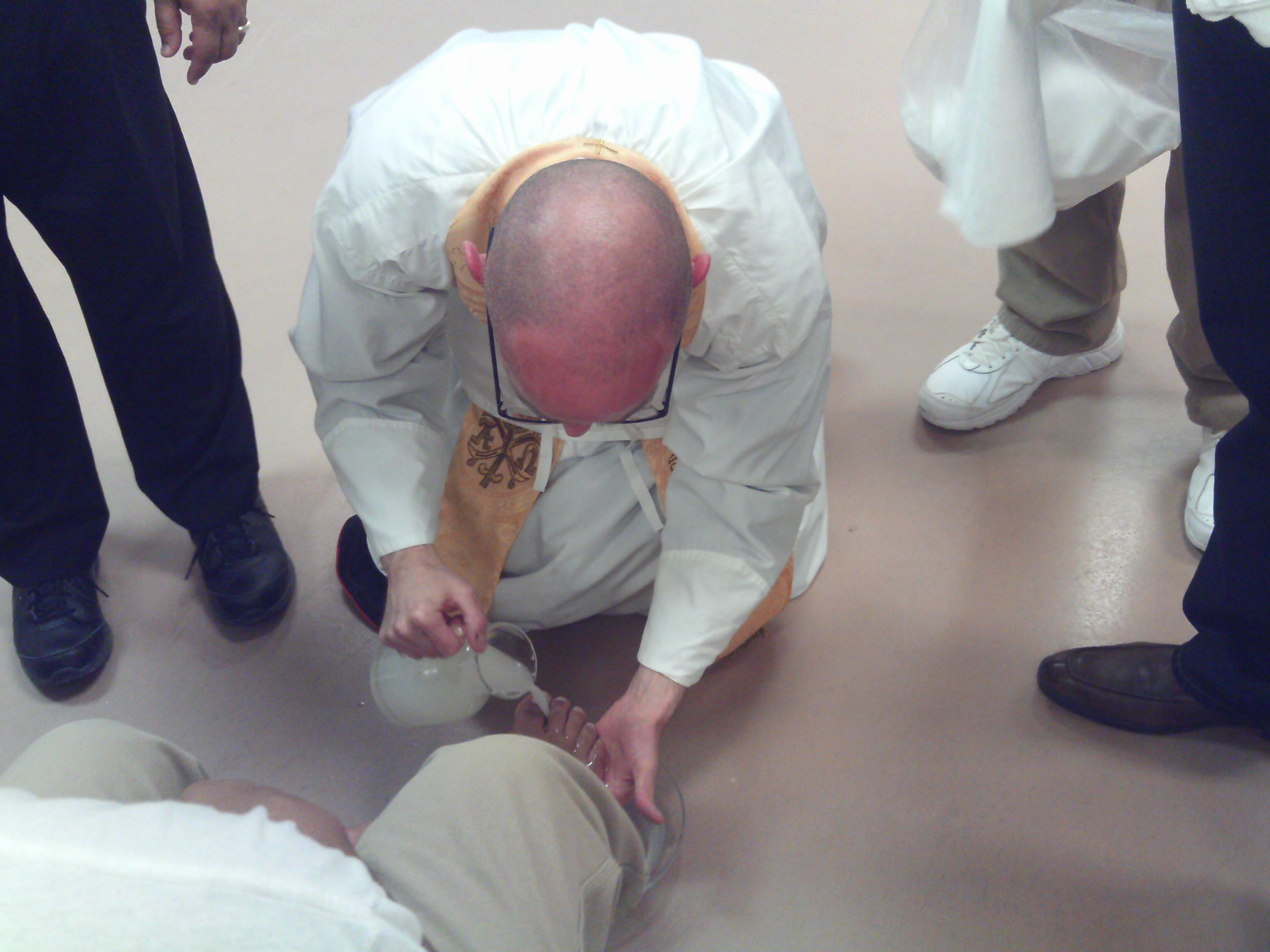Holy Thursday Washing of Feet.JPG