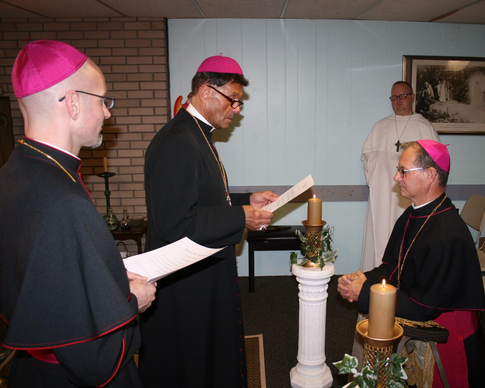 Bishop Fucci, BOHC