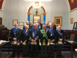 Lodge St Anthony 154 - 17/18 Installation
