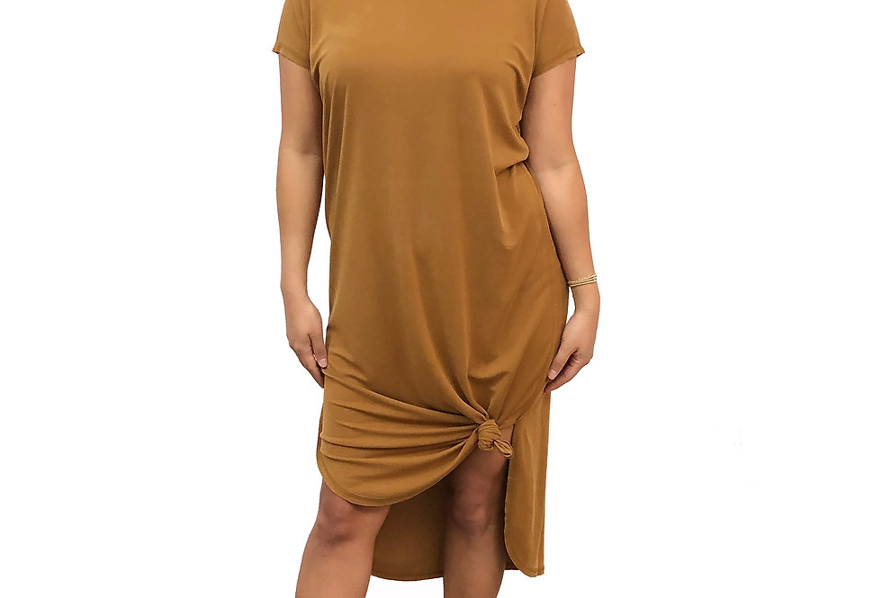 Curve Hem Dress