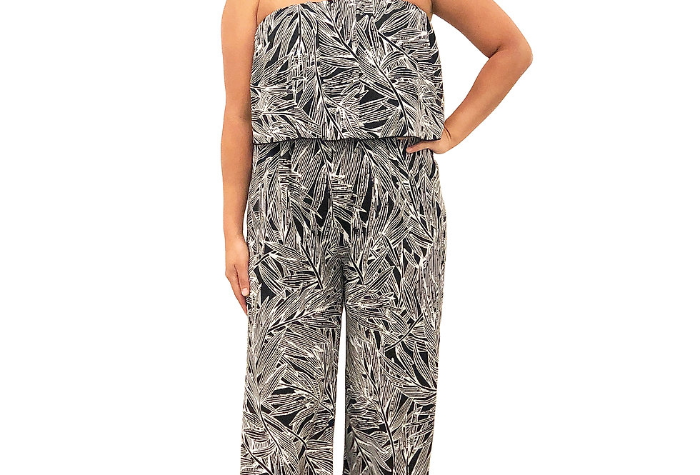 Palm Layered Jumpsuit