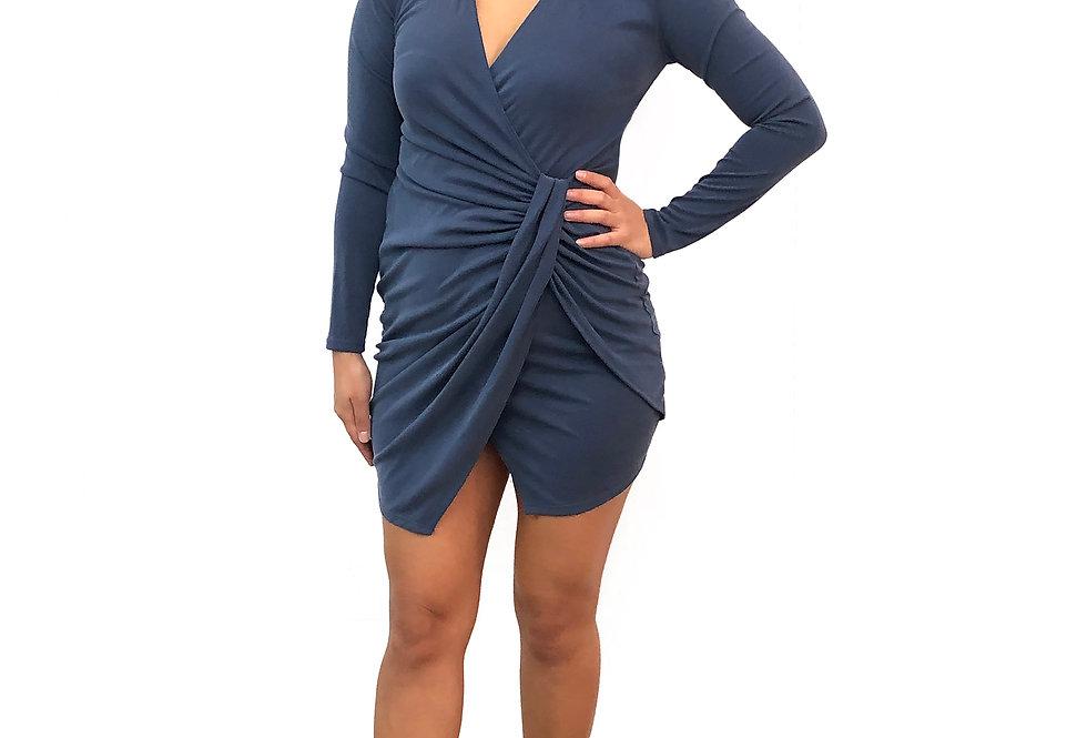 Twisted Wrap Dress
