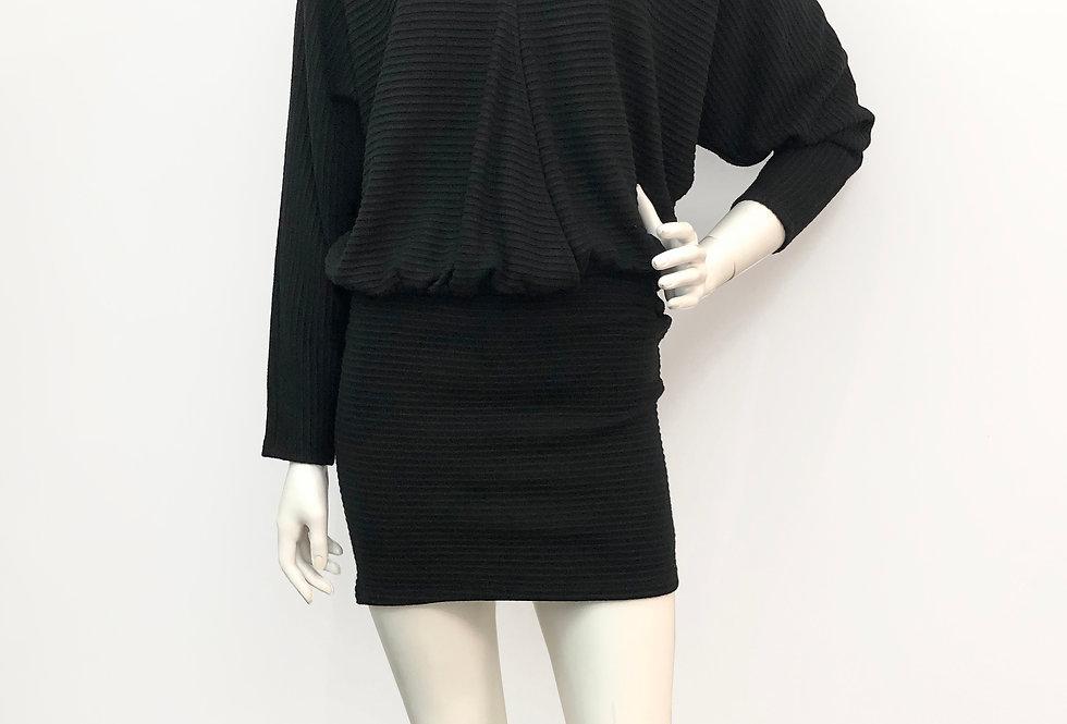 Dolman Sleeve Mini Dress