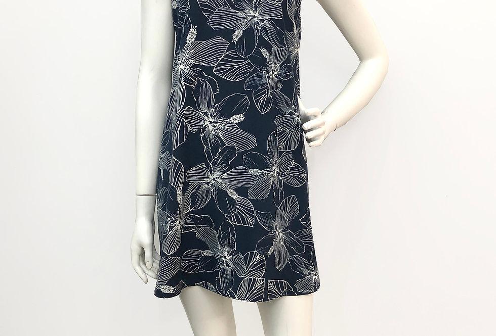 Hibiscus Halter Dress